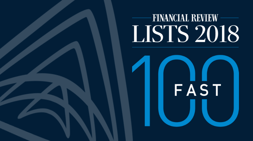 Argus TrueID named in AFR Fast100 List for 2018