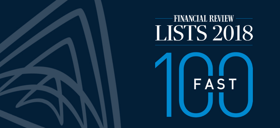Argus named in AFR Fast 100